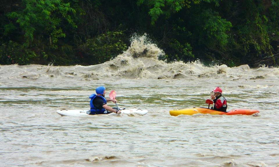 River Trips for Experienced Kayakers and Courses offered for Bignners in Kathmandu