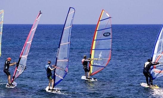 Windsurfing In Kerkira