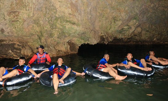 River Tubing Trips In Karangmojo, Indonesia