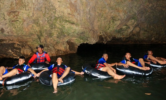 River Tubing Trips In Karangmojo, Indonesia