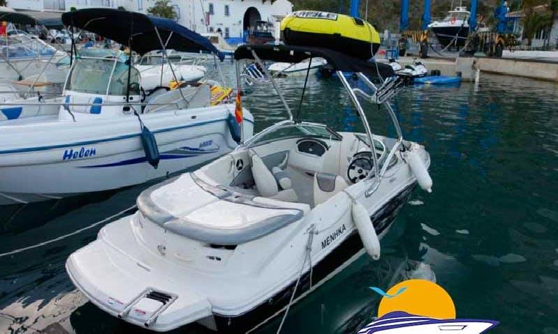 Alquiler Deck Boat Rental in Almunecar