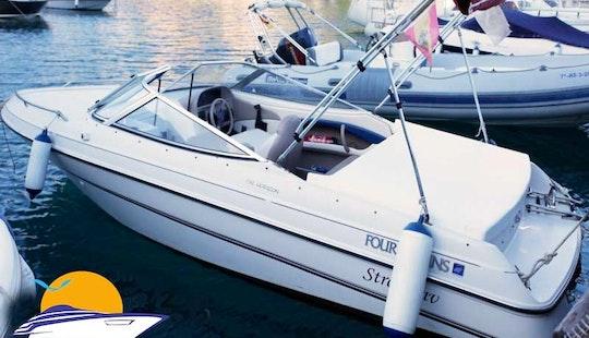 Four Winns 192 Horizon Deck Boat Rental In Almunecar