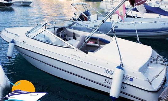 Four Winns 192 Horizon Deck Boat Rental In Almunecar