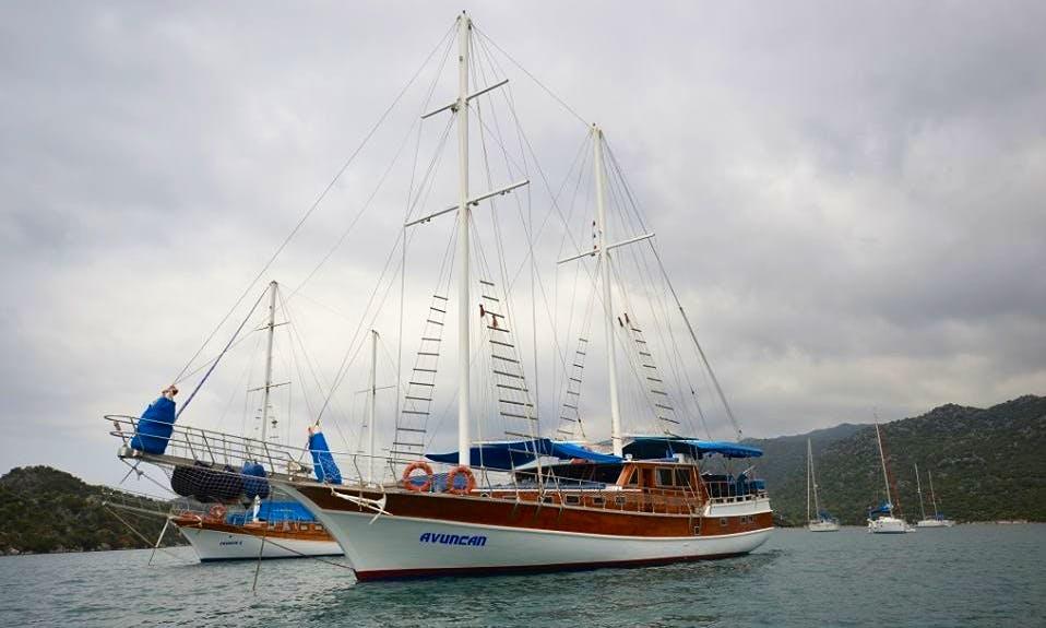 "Schooner ""Avuncan"" Sailing Yacht Charter in Barış Sokak"
