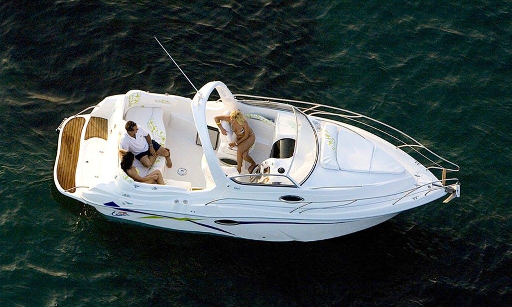 Deck Boat Rental in Almunecar