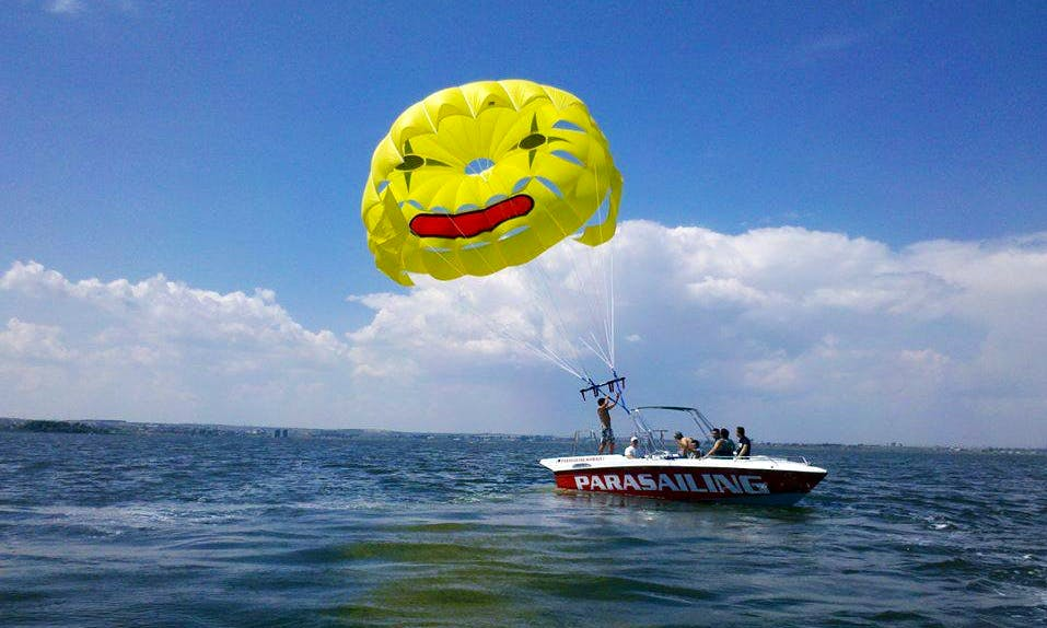 Exciting Parasailing Adventure in Constanța, Romania