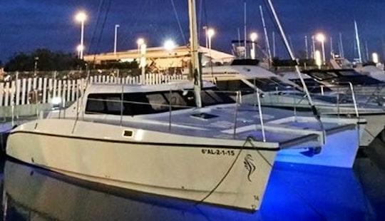 Catamaran Big Open Cruising Catamaran Rental In Almunecar