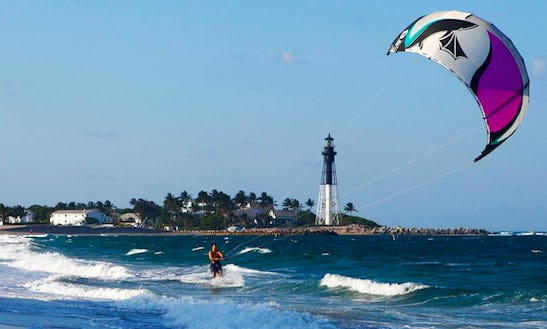 Kite Surfing Lessons In Pompano Beach