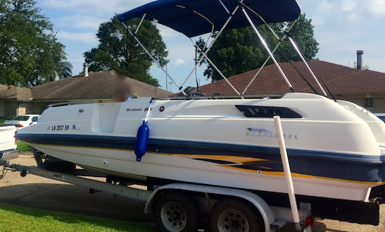 Chaparral Family Deck Boat