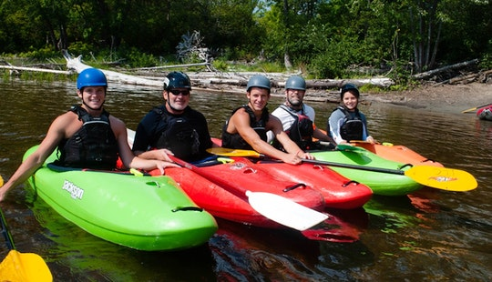 Kayak Lesson In United Kingdom