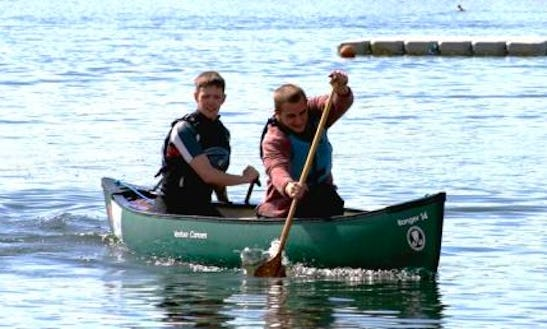 Canoeing Lesson In United Kingdom