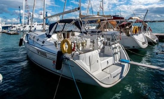 Beneteau Cyclades 43.4 Sailing Lessons In Trapani Sicilia, Italy