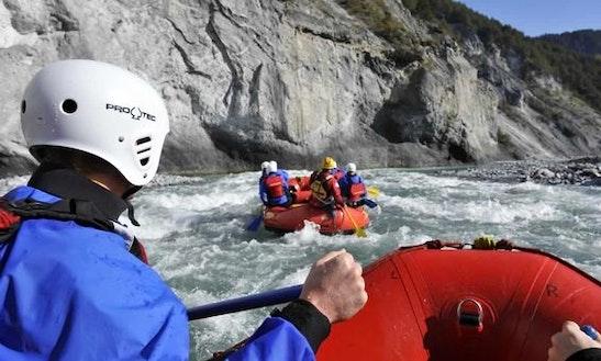 Rafting Trips In Versam, Switzerland