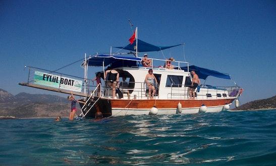 Daily Boat Trips In Kalkan, Turkey