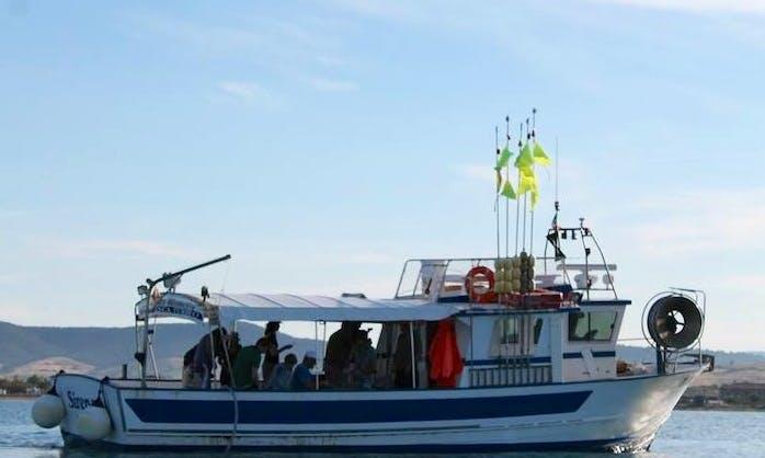 Head Boat Fishing Charter in Orbetello Toscana, Italy
