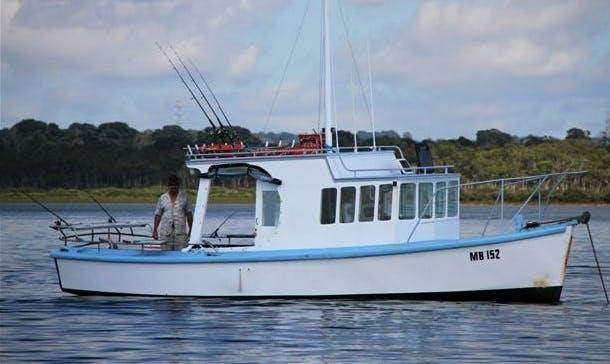 "Enjoy Fishing Trips Boat ""Katrina Louise"" in Patterson Lakes, Victoria"
