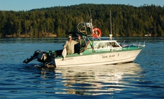 25' Fishing Charter In Sooke
