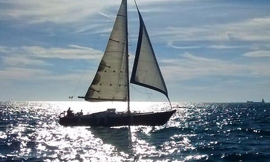 38' Cruising Monohull Charter In Barcelona, Spain