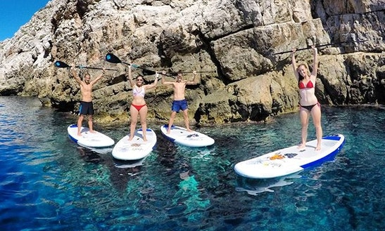 Stand Up Paddle Tour In Ciutadella De Menorca