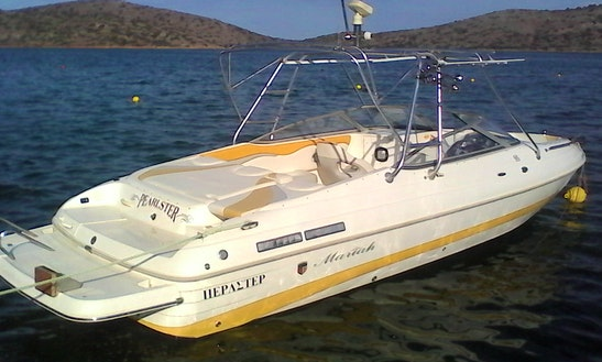 Speed Boat Mariah Sx25 For Rent In Elounda-crete