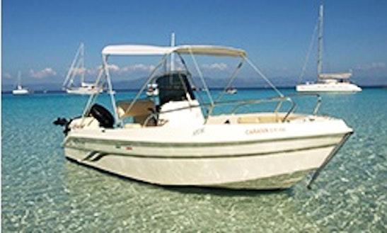 17' Speedy 500 Powerboat In Paxoi