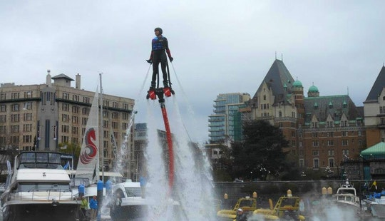 Flyboarding In Victoria, Canada