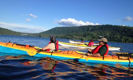 Introductory Tandem Kayak Tours And Lesson In West Vancouver