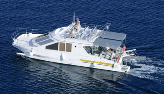 46' Power Catamaran Charter In Punat