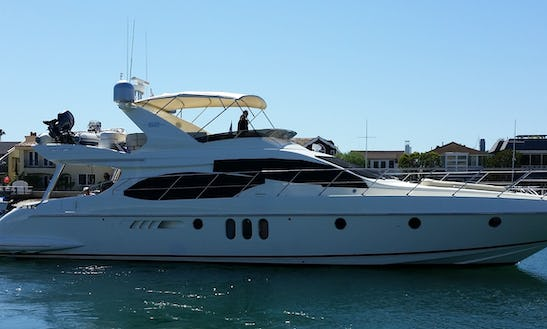 62ft Luxury Motor Yacht Charter In San Diego