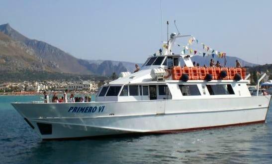 The Historical Boat Cruises In San Vito Lo Cap, Italy