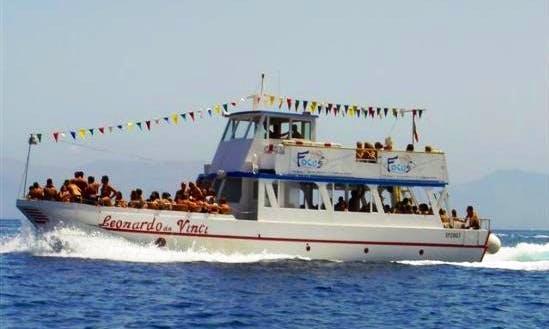 """""""Leonardo Da Vinci"""" Boat Cruises in San Vito Lo Capo"""