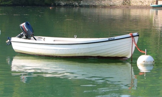 13' Orkney Spinner Dinghy Hire In Dittisham