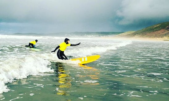 Surf Lessons For Beginner To Advanced Level With Experienced Instructors In Croyde