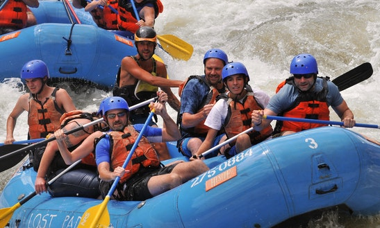Whitewater Rafting In Cañon City