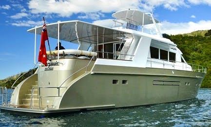 """MV Tarquin"" Cruising in Marlborough, New Zealand"