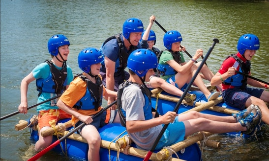 Raft Building In Swanage