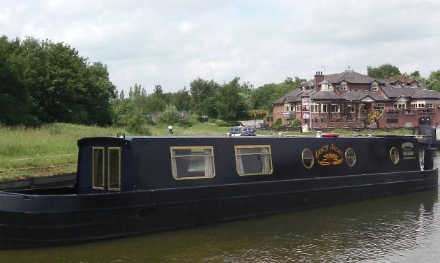 Lucy Joe Canal Boat Charter in Worsley