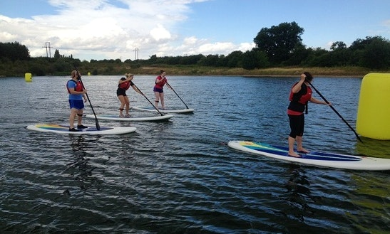 Stand Up Paddling Hire In England