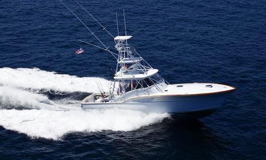 Charter 43' Sport Fisherman Yacht In South Kingstown, Rhode Island