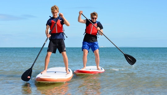 Paddleboard Lessons In Swanage