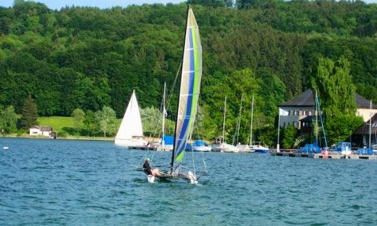 Hobie Cat 17 Beach Catamaran For Rental In Mattsee