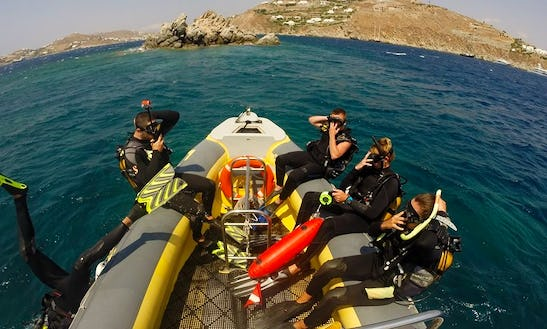 Diving Trip And Courses In Mikonos