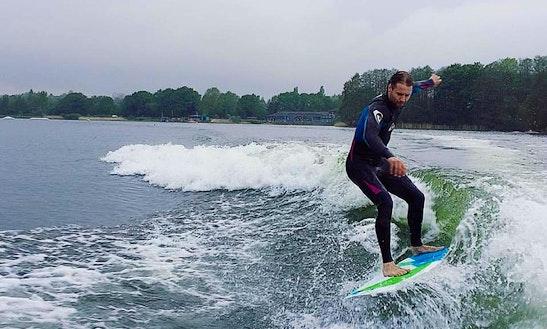 Wakeboarding In Mytchett