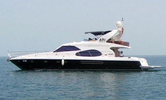 Charter Duretti 70 Black Power Mega Yacht In Dubai, Uae
