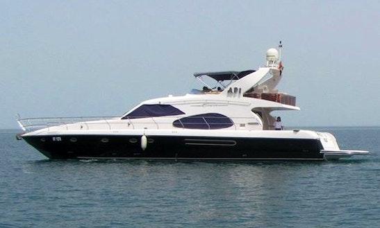 Charter Duretti 70 Black Power Mega Yacht In Dubai, Uae