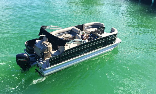 Explore Miami Beach On 22' Premier 221 Gemini Pontoon