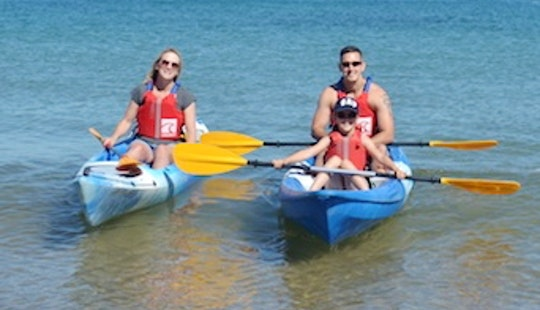 Family Friendly Kayaking In Swanage