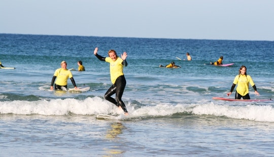 Surf Lessons In Hayle