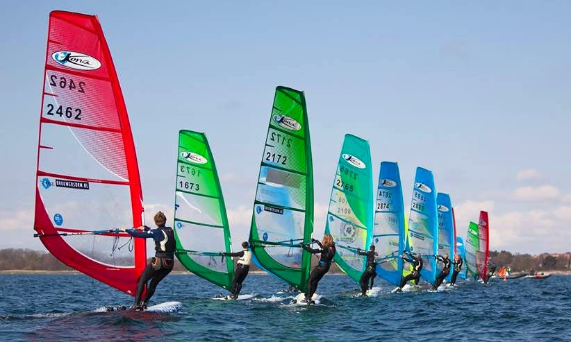 Learn Windsurfing in Varamon, Sweden