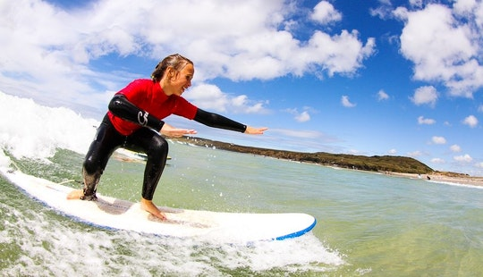 Surf Lessons In Camborne